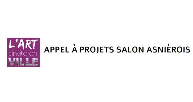 APPEL À PROJETS SALON ASNIÈROIS