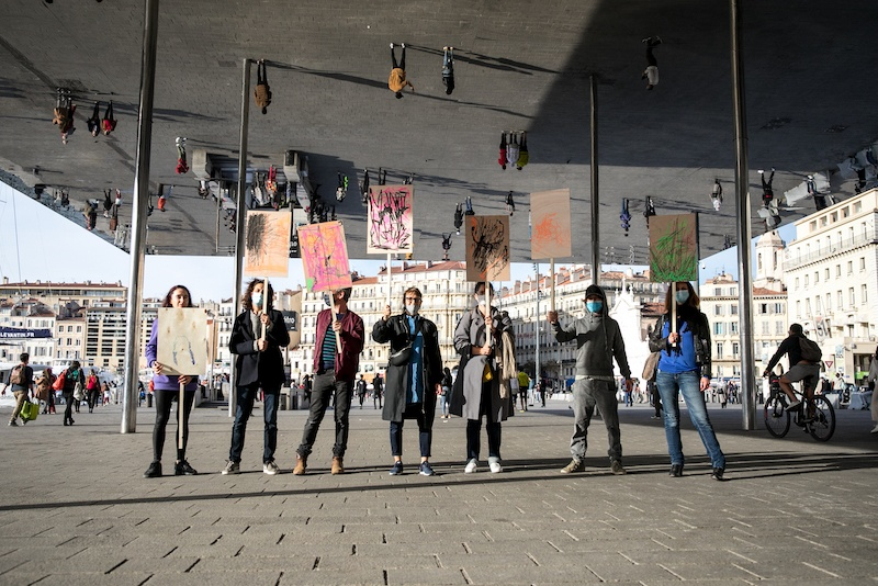 Manifestation, Marseille, 2020 © Fanni Futterknecht