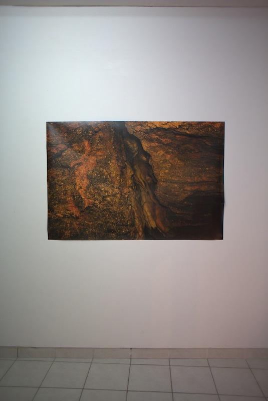 Vue de l'exposition Écran soleil sombre • Walk show #6, Claire Hannicq jusqu'au 20 janvier 2021, Capsule Galerie Rennes