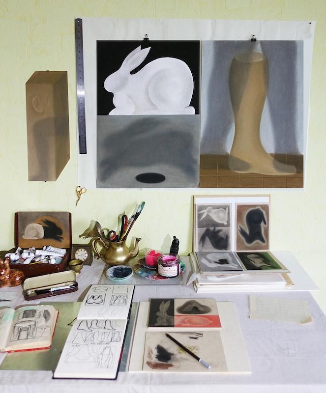 Hao Shuo - Vue d'atelier