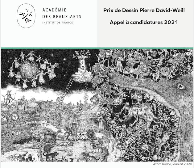 PRIX DE DESSIN PIERRE DAVID-WEILL