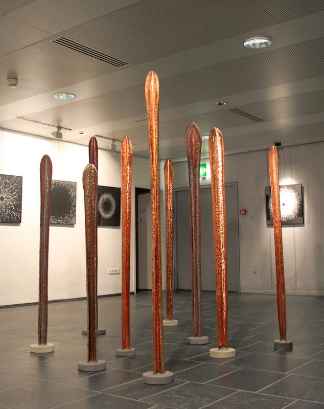 Amandine Gollé - vue exposition cité des arts de Chambery