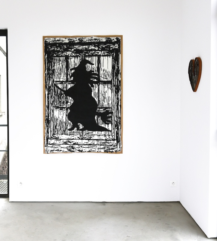 Vue exposition Moisson Froide d'Antoine Medes jusqu'au 28 février 2021, La Centrale, Ruoms