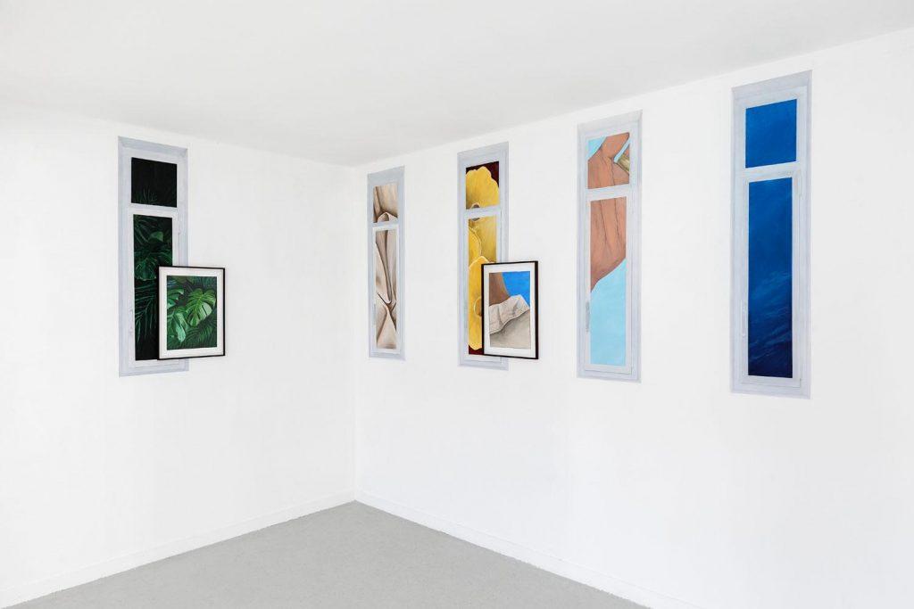 Vue de l'exposition Overseas de Chloé Quenum jusqu'au 28 février 2021, Les Bains-Douches, Alençon courtesy de l'artiste et Les Bains-Douches, Alençon - Photo Romain Darnaud