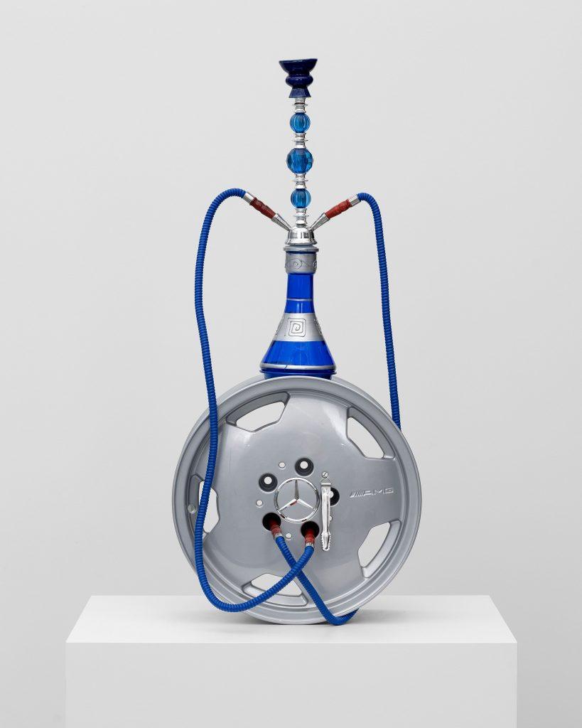 Julien Boudet Chicha AMG, 2021 Rim, Hookah 94 x 41 x 20 cm