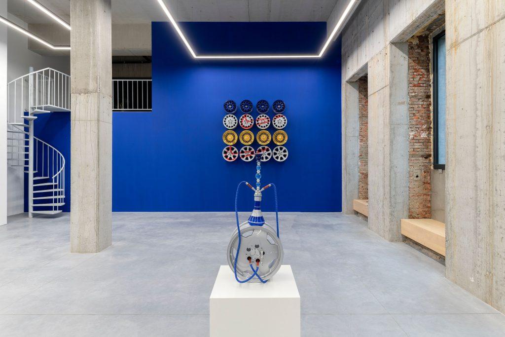 Julien Boudet, Tout est bleu - Stems Gallery