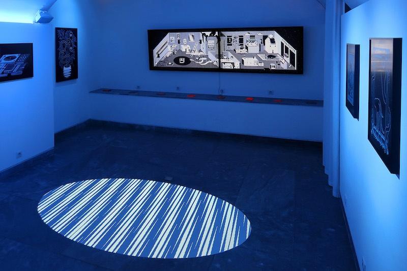 Nicolas Sassoon, SUBTERRANEA, 2020, exhibition view (INDEX, AVENUE, SKYLIGHT)
