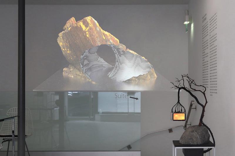 Nicolas Sassoon, SUBTERRANEA, 2020, exhibition detail (right to left, The Prophets, CORES)