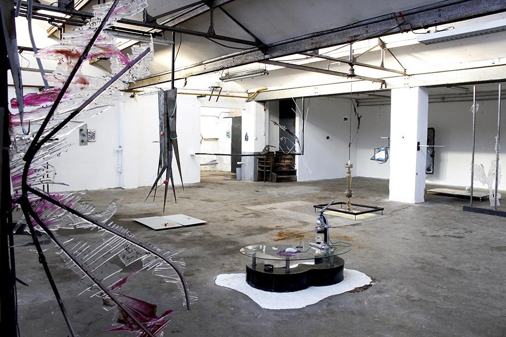 Vue d'exposition SAÚVA-ADA de Romain Vicari jusqu'au 21 février 2021, Chiffonnier Dijon