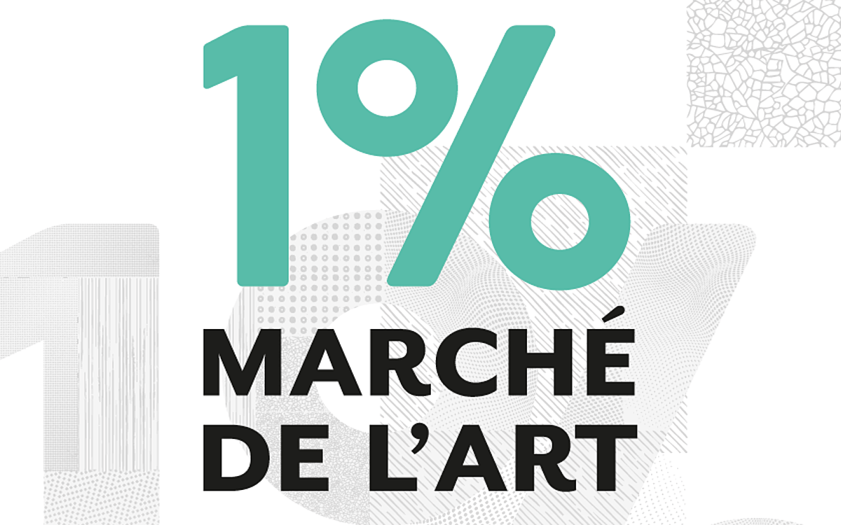 3E ÉDITION DE LA BOURSE « 1% MARCHÉ DE L'ART »