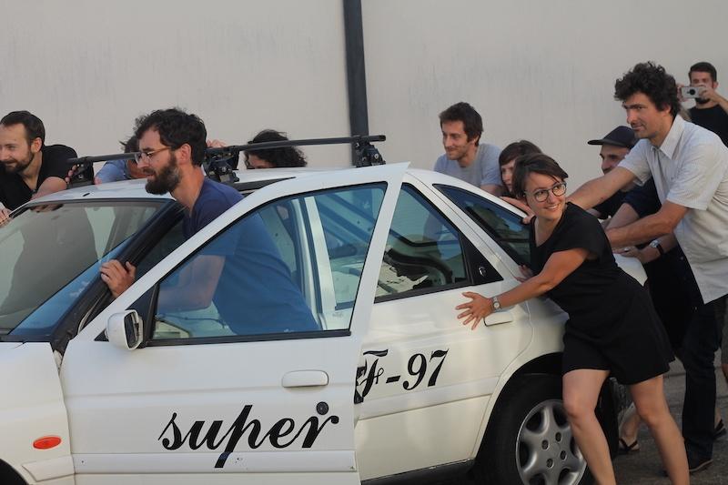 Super F-97, micro-lieu d'exposition en voiture