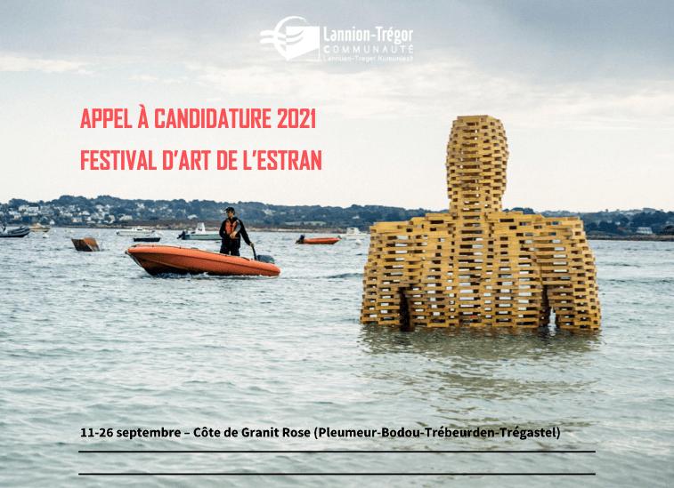 APPEL À CANDIDATURE POUR L'ÉDITION 2021 DU FESTIVAL D'ART DE L'ESTRAN