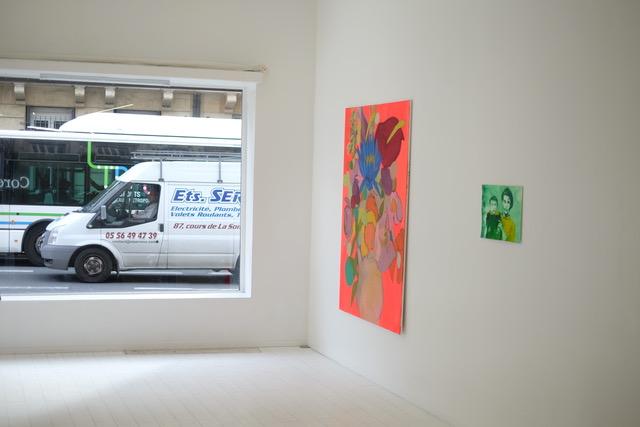 Vue exposition NOYAU, 24 cours Aristide Briand, Bordeaux Jusqu'au 28 mars 2021