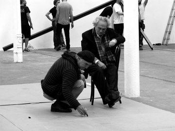 Jannis Kounellis, Manolis Baboussis, Glasgow, 2012. Photo Michelle Coudray.