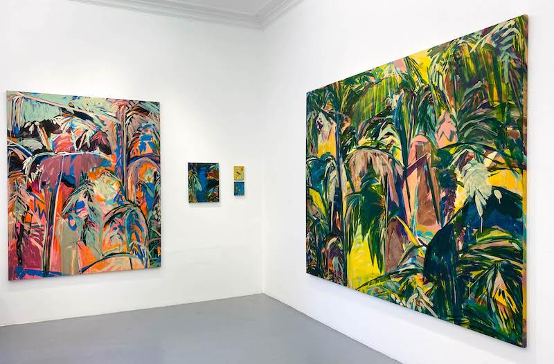 Exposition De tout il resta trois choses, exposition personnelle de Julie Susset jusqu'au 20 mars 2021 Galerie Laure Roynette Paris