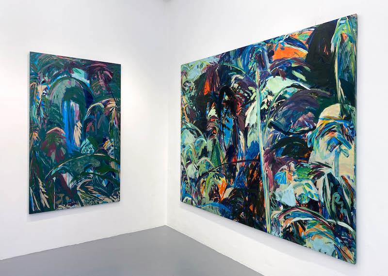 Exposition De tout il resta trois choses, exposition personnelle de Julie Susset - Photo Galerie Laure Roynette Paris