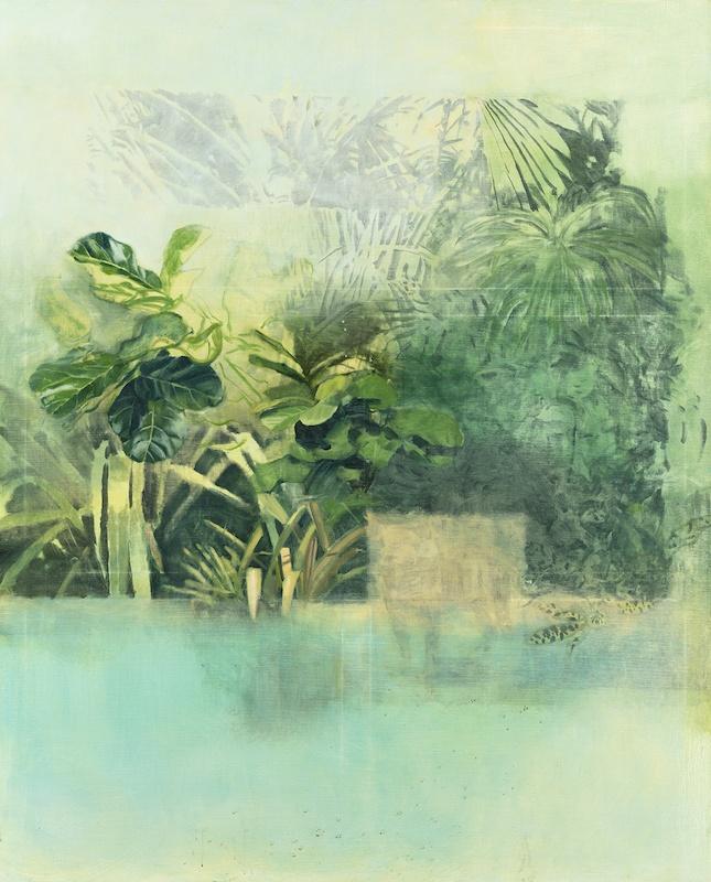 Yann Lacroix Calathea, 2020, 212 x 174 cm