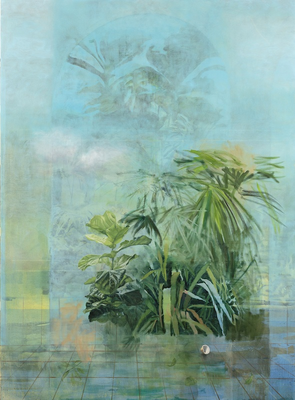 Yann Lacroix, Espace, 2020, 263 x 194 cm