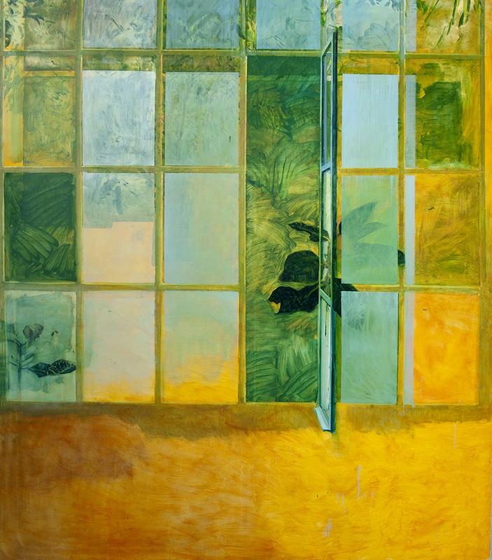 Yann Lacroix India Song-oil on canvas-185 x 160 cm-2018