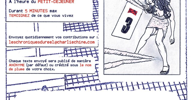 APPEL À CONTRIBUTION -LES CHRONIQUES DU RÉEL