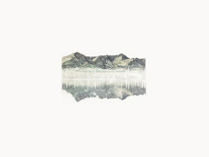 Hélène Muheim, Memory Peel (Pulse), 202030 x 40 cmpoudre de graphite, encres, et ombres à paupières sur papier