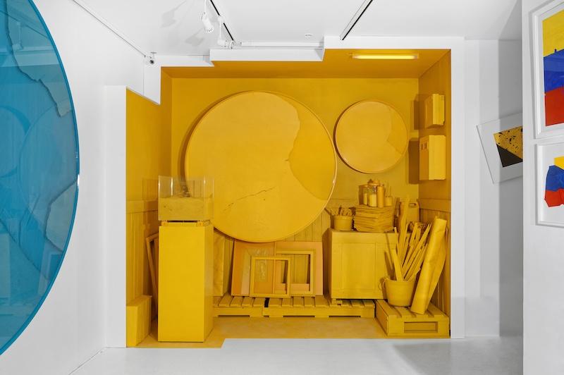 Vue exposition Rétroviseur de Manuel Mérida, Espace Meyer Zafra