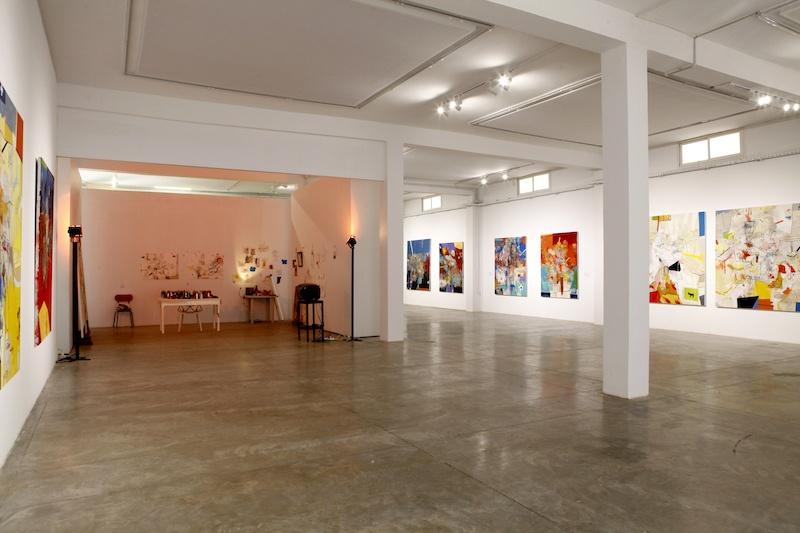 Vue exposition States of Exception de Thameur Mejri, B7L9 Art Station, Kamel Lazaar Foundation, Tunis
