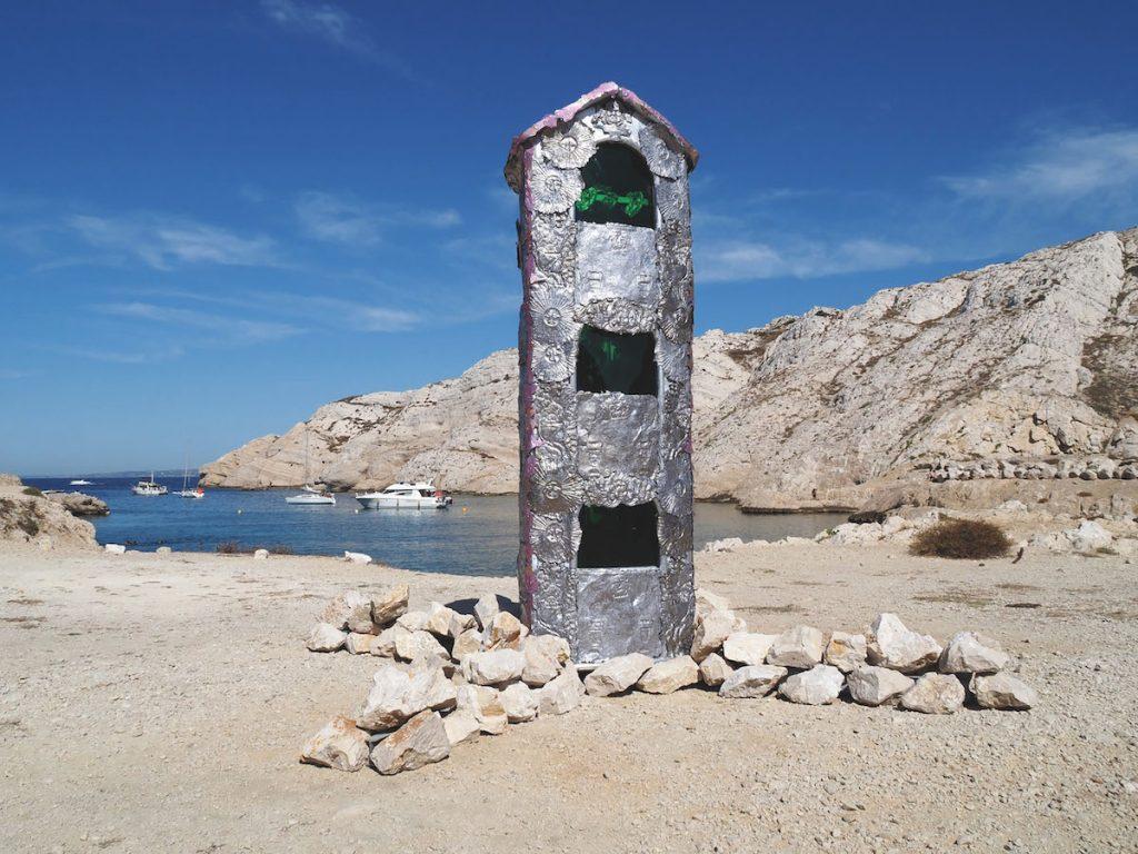 Jean-Baptiste Janisset, Sourire aux anges du frioul PAC 2020, Îles du Frioul, Marseille. Courtesy et photo artiste