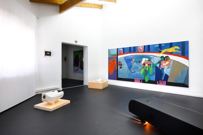 Vue d'exposition Diamants rouillés, une exposition sentimentale jusqu'au 22 mai 2021, Le Point Commun, Annecy par Salim Santa Lucia