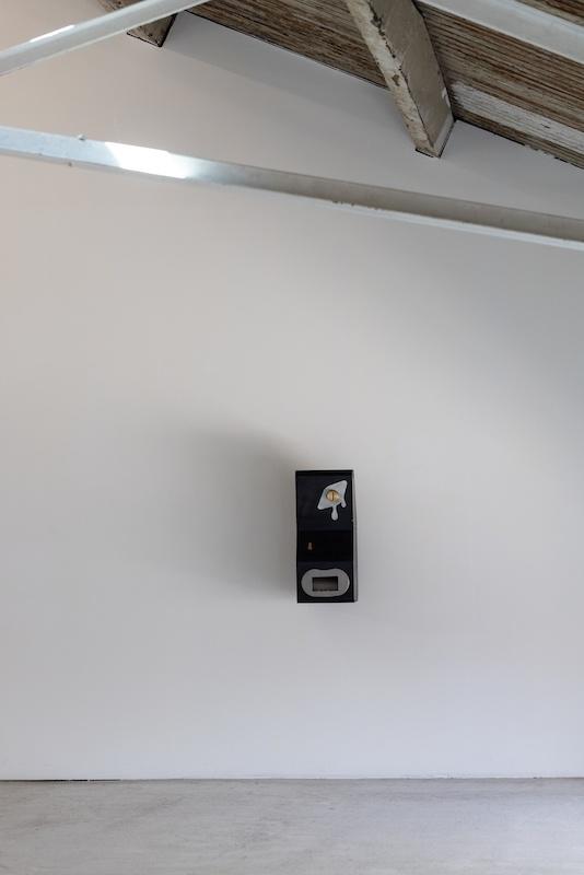 Vue d'exposition HYPERCONTRÔLE d'Antoine Nessi, du 07 mai au 19 juin 2021, Les Ateliers Vortex, Dijon. Photo Vincent Arbelet