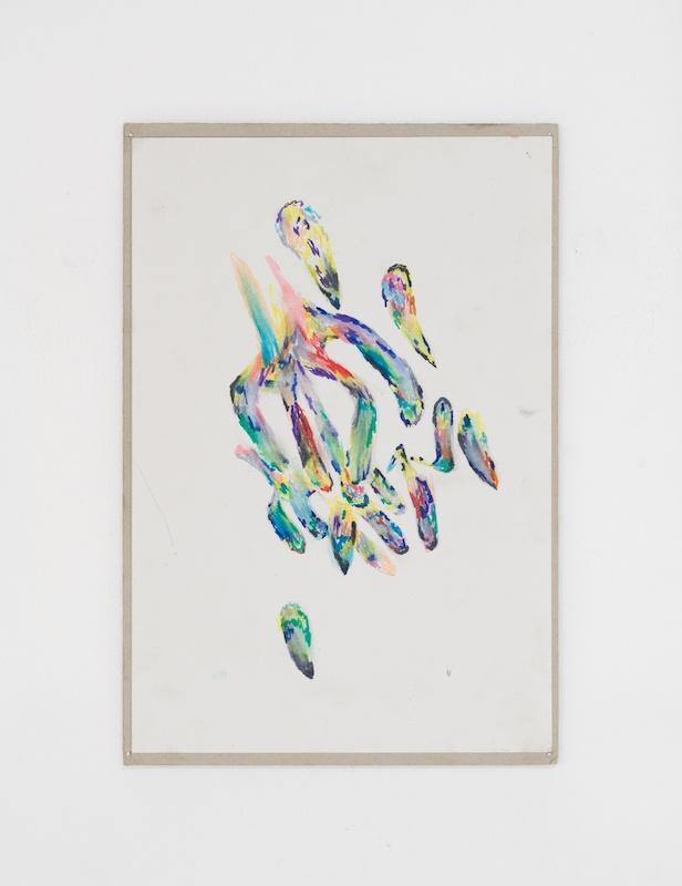 Victor Daamouche, Des seins, des mains -  Vue exposition collective Or Glory, Cantina, Aarhus (Danemark) Photo Luna Lund Jensen