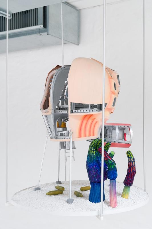 Dejode et Lacombe, Module aquatique - Vue exposition collective Or Glory, Cantina, Aarhus (Danemark) Photo Luna Lund Jensen