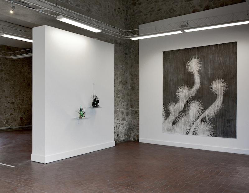 Vue exposition Antipolis de Fabrice Cazenave, Espace Les Arcades, Antibes