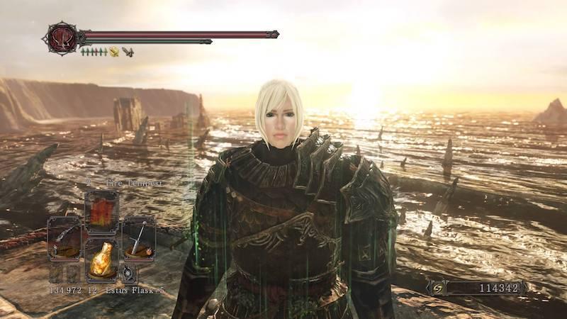 Dark Souls 2, Selfie in Majula