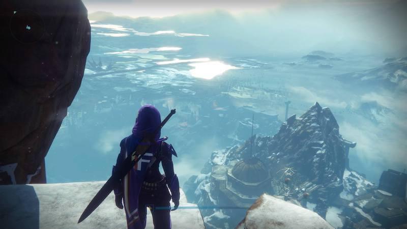 Destiny, View from Felwinter Peak, 2016