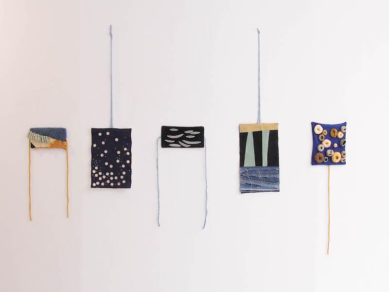 Micro-jardins, Oeuvres textiles de Marie-Claire Corbel
