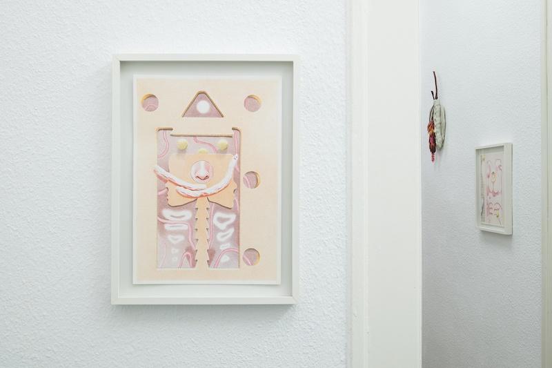 Ellande Jaureguiberry, Bliss II, 2020 Crayon de couleur sur papier 19 x 29 cm Lieu : A.ROMY Gallery, Genève Crédit : Greg Clément