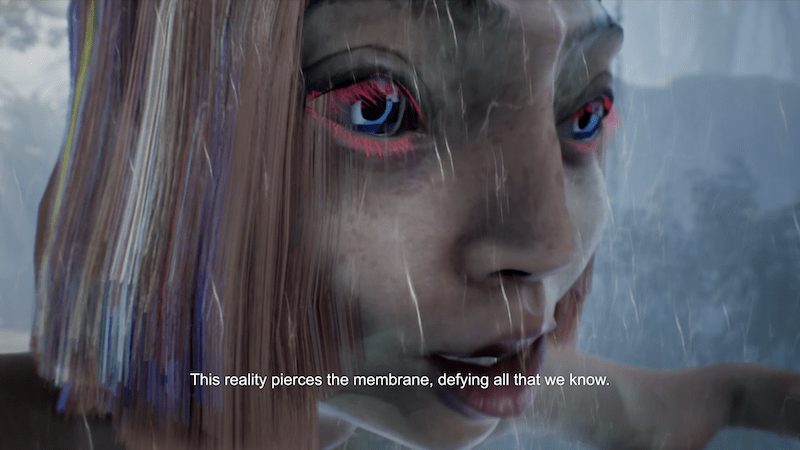 Keiken - Dream Time Life Simulation, 2021 (film still)