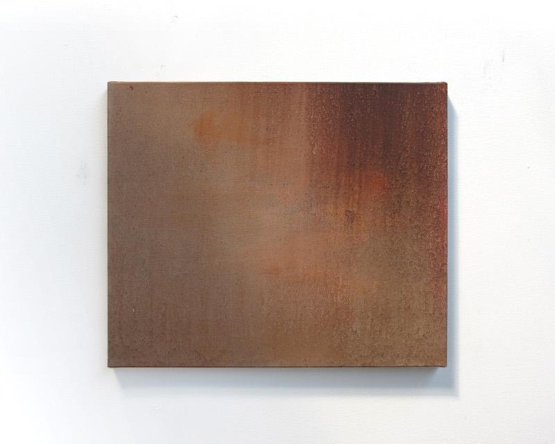 Benoît Blanchard, Sirocco, 2019. Huile sur toile, 46x55cm. Photo Benoît Blanchard