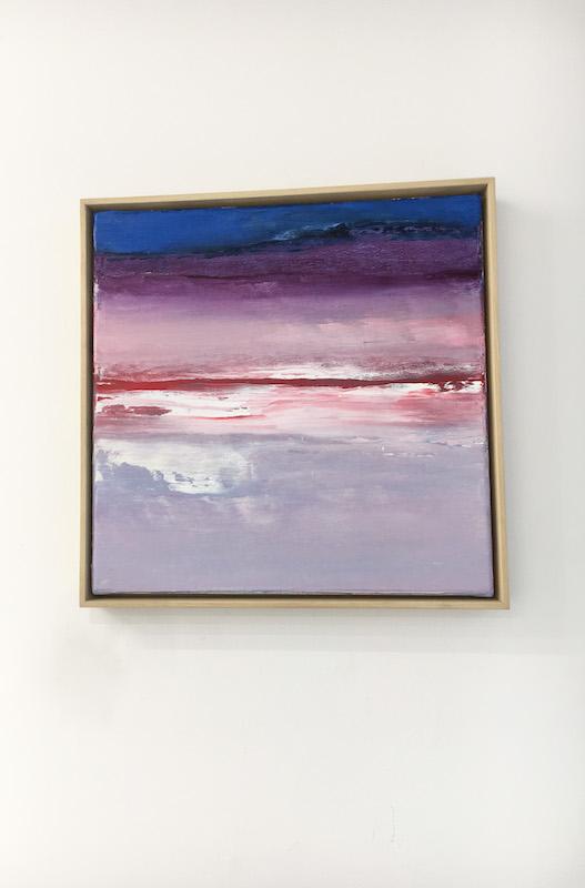 Untitled, Somyot Hananuntasuk, huile sur toile, 30 x 30 cm, 2020. Photo : Courtesy galerie arnaud Lebecq.