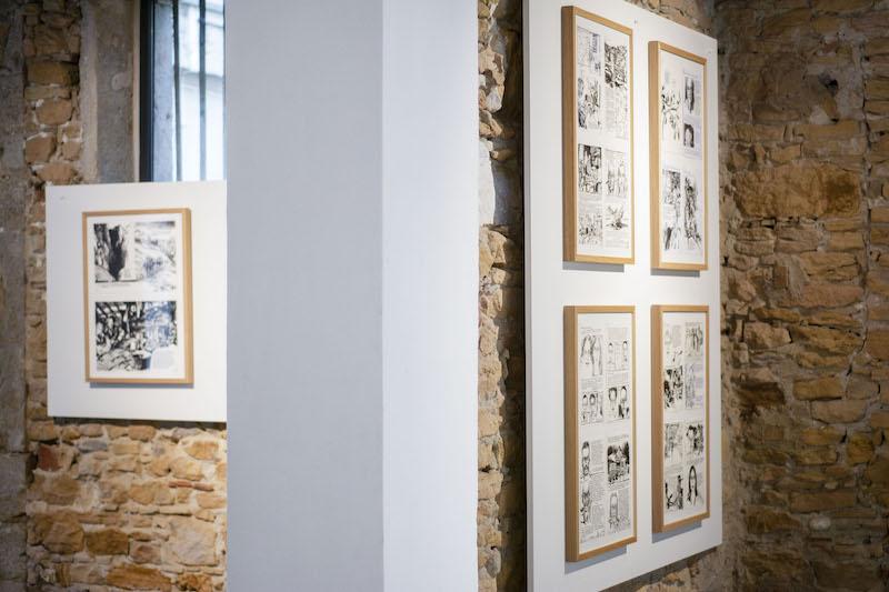 Vue de l'exposition À la croisée des chemins © Fondation Bullukian
