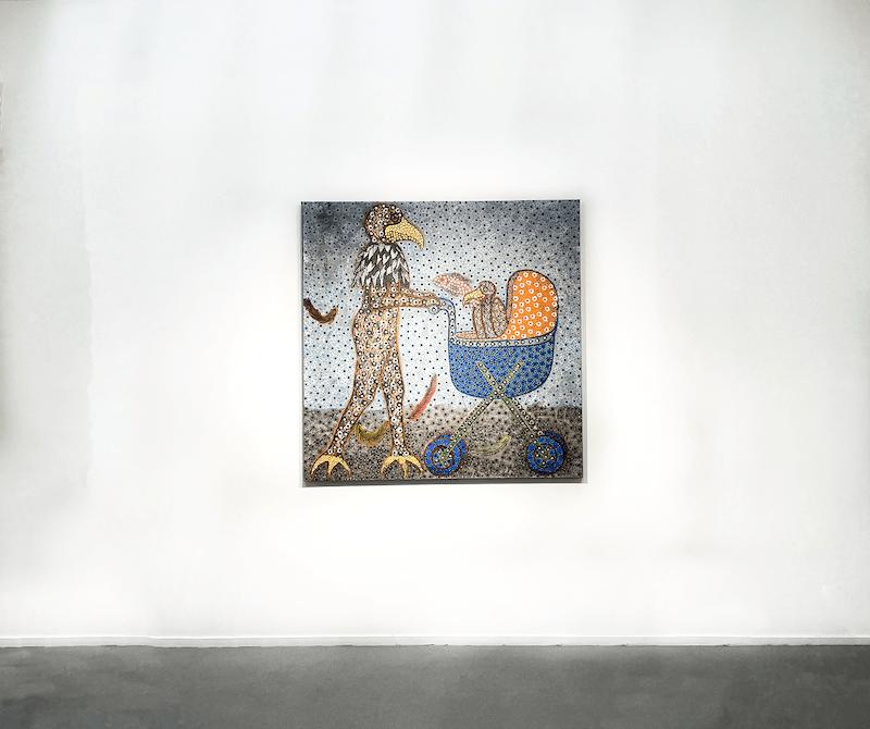 Exposition Figures of power, une exposition conjointe de John Madu et Ousmane Niang Jusqu'au 14 août 2021, Galerie Afikaris Paris