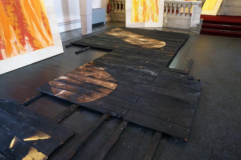 Dear spectator, you are in a space exposition de Marion Flament en collaboration avec Jimme Cloo - scénographie  jusqu'au 02 octobre 2021, Castel Coucou, Synagogue de Forbach