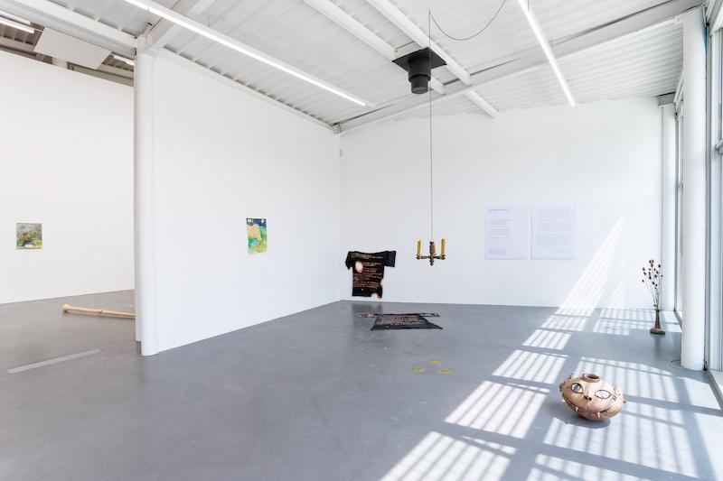 vue exposition Des soleils encore verts, CAC Brétigny, 15-17 juillet 2021 © Clément Boute