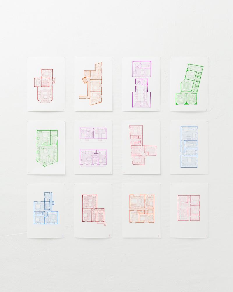 Les maisons que j'habite par Eleonora Santucci