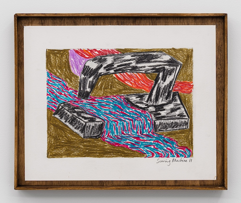 Sewing Machine II, Stevie Dix, 2021 - Photo Gregory Copitet © GALERIE CHLOE SALGADO