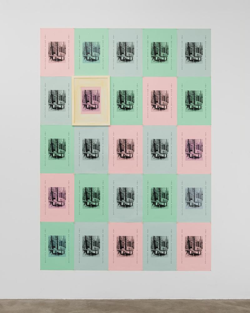TWSP Prints, Hugo Avigo, 2021 - Photo Gregory Copitet © GALERIE CHLOE SALGADO