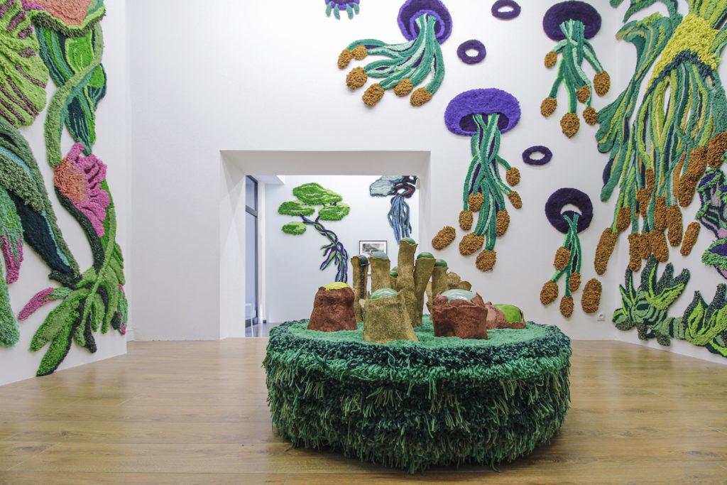 Supernature, exposition personnelle de Claude Como, Galerie Le cabinet d'Ulysse, Marseille. Courtesy Claude Como & Le Cabinet d'Ulysse © Studio Tropicalist