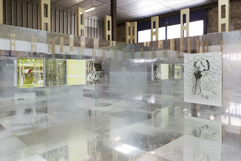 Vue exposition Double Triple, Thomas Fougeirol, Hubert Marot
