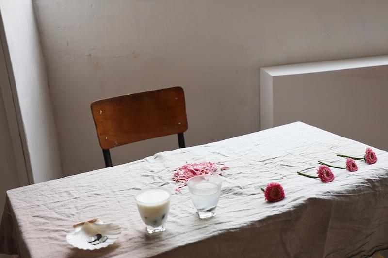 Anne Bravy performance ©Melanie feuvrier